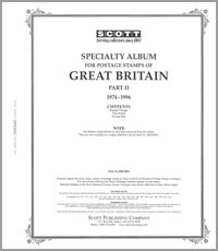 GREAT BRITAIN 1974-1996 (87 PAGES)