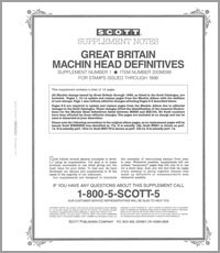 GREAT BRITAIN MACHINS 1999 (17 PAGES) #1