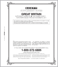 GREAT BRITAIN 2011 (20 PAGES) #65