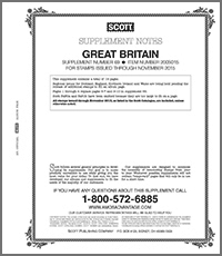 SCOTT: GREAT BRITAIN 2015 (19 PAGES) #69