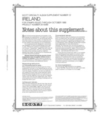 IRELAND 1989 #12 (6 PAGES)