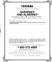 GUERNSEY & ALDERNEY 2007 (10 PAGES) #9
