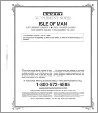 ISLE OF MAN 2001 (6 PAGES) #3