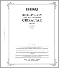 GIBRALTAR 1886-1997 (85 PAGES)