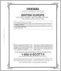 BRITISH EUROPE 1996 (10 PAGES) #18