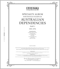 AUSTRALIA DEPENDENCIES 1901-1976 (74 PAGES)