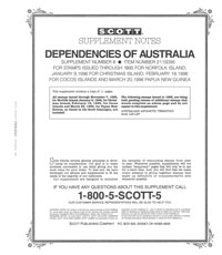 AUSTRALIA DEPENDENCIES 1995 (12 PAGES) #8