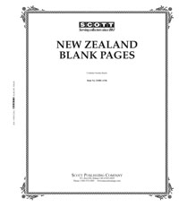 BLANK PAGES: NEW ZEALAND (20 PAGES)