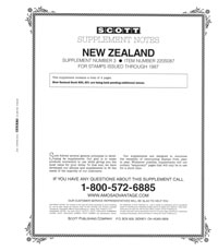 NEW ZEALAND 1987 #3 (5 PAGES)