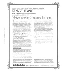 NEW ZEALAND 1991 (6 PAGES) #7