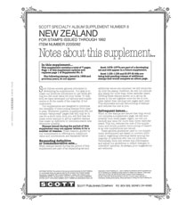 NEW ZEALAND 1992 (10 PAGES) #8