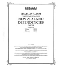 NEW ZEALAND DEPENDENCIES 1985-1990 (130 PAGES)