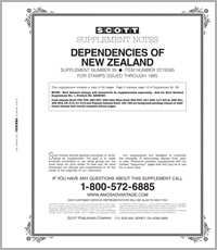 NEW ZEALAND DEPENDENCIES 1985 #39 (31 PAGES)