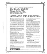 NEW ZEALAND DEPENDENCIES 1990 (16 PAGES) #44