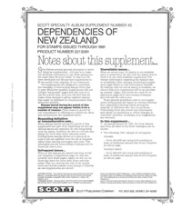 NEW ZEALAND DEPENDENCIES 1991 (7 PAGES) #45