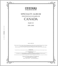 CANADA 1991-1995 (40 PAGES)