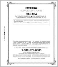 CANADA 2012 (18 PAGES) #64