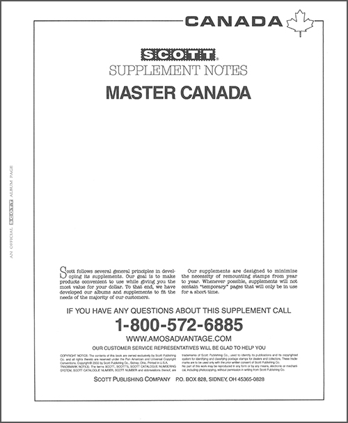 MASTER CANADA 2001 (13 PAGES) #27