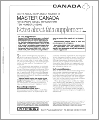 MASTER CANADA 1992 (12 PAGES) #18