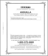 ANGUILLA 2001 (5 PAGES) #4