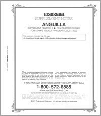 ANGUILLA 2003 (3 PAGES) #6