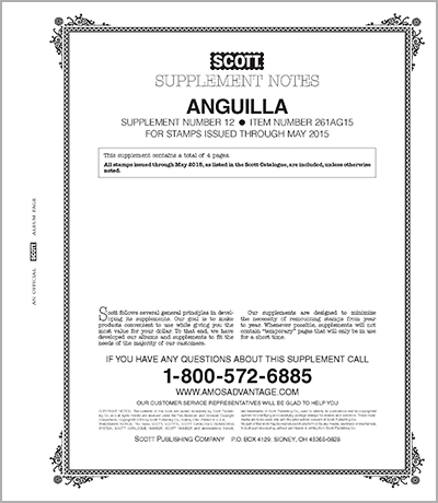 ANGUILLA 2015 (5 PAGES) #12