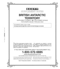 BRITISH ANTARCTIC 2002 (3 PAGES) #6