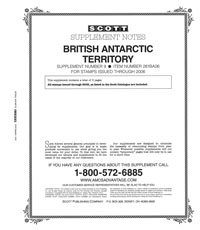 BRITISH ANTARCTIC 2006 (6 PAGES) #9