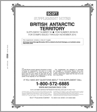 BRITISH ANTARCTIC 2015 (6 PAGES) #16