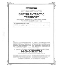 BRITISH ANTARCTIC 1996 (5 PAGES) #1