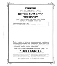 BRITISH ANTARCTIC 1998 (4 PAGES) #3