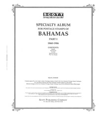 BAHAMAS 1860-1986 (88 PAGES)