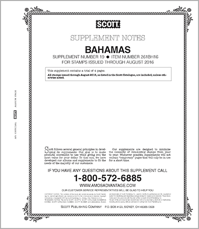 BAHAMAS 2016 (5 PAGES) #19