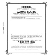 CAYMAN ISLANDS 2004-2005 (8 PAGES) #9