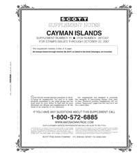 CAYMAN ISLANDS 2007 (4 PAGES) #11