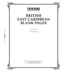 BLANK PAGES: BRITISH EAST CARIBBEAN (20 PAGES)