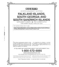 FALKLAND ISLANDS 2003 (5 PAGES) #8