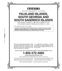 FALKLAND ISLANDS AND SOUTH GEORGIA 2005 (4 PAGES) #10