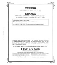 GUYANA 2002 (3 PAGES) #7