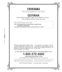 GUYANA 2003 (6 PAGES) #8