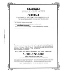 GUYANA 2004 (5 PAGES) #9