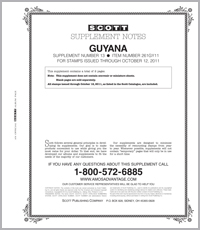 GUYANA 2011 (3 PAGES) #13