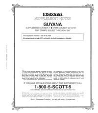 GUYANA 1997 (53 PAGES) #2
