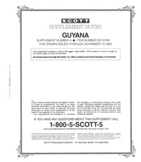 GUYANA 1999 (57 PAGES) #4
