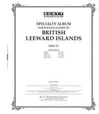 BR LEEWARD ISLANDS 1976-1982 (118 PAGES)