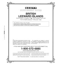 BRITISH LEEWARD ISLANDS 1988 (64 PAGES) #3