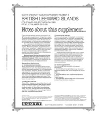 BRITISH LEEWARD ISLANDS 1989  #4 (38 PAGES)