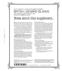 BRITISH LEEWARD ISLANDS 1990 #5 (99 PAGES)