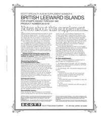 BRITISH LEEWARD ISLANDS 1991 #6 (37 PAGES)