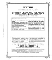 BRITISH LEEWARD ISLANDS 1993 #8 (66 PAGES)